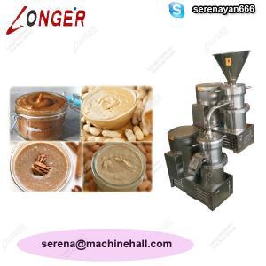 Quality High Quality Peanut Paste Making Machine for Sale|Tahini Grinder Machine Price wholesale