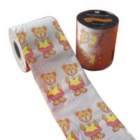 Quality funny toilet tissue paper 2ply 250 sheets 100% virgin pulp printed toilet paper wholesale
