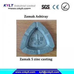 China Zamak/Zinc metal Alloy inject cast Ashtray on sale
