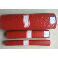 Quality Heat Resistant Silicone Rubber Fiberglass Sleeving , High Temperature Fire Sleeves wholesale