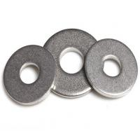 China DIN9021 Flat Lock Washer For Fastener Bolts / Structural Washer , Circular Shape on sale