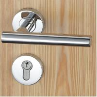Quality Satin Stainless Steel Mortise Door Lock Fits For 38 - 50mm Door Thickness wholesale