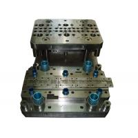 China Progressive Sheet Metal Stamping Dies One Row Copper Material With Riveting Assembling on sale