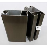 Quality Customized Champagne Anodized Aluminum Profiles 6063 Aluminum Extrusion For Window And Door Screen Frame wholesale