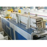 China PVC Skirting Board Extrusion Machine , Profile Production Line / Plastic Profiel Extruder on sale
