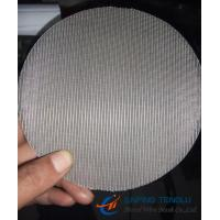 Quality Micronic Filter Discs, Stainless Steel 304/ 316, Dutch Weave Wire Mesh wholesale