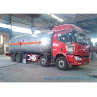 China 8 x 4 4 Axles Bobtail Liquid Propane Gas / LPG Tank Trailer Truck 15 Ton on sale