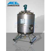 Quality 3000litres Sanitary Stainless Steel Heating Mixing Tank (ACE-JBG-3) wholesale