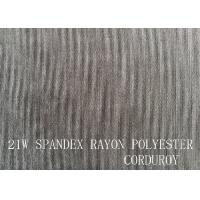 Quality 21W  SPANDEX RAYON POLYESTER CORDUROY FOR GARMENT wholesale