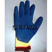 China Kevlar cut resistant gloves latex palm coated on sale
