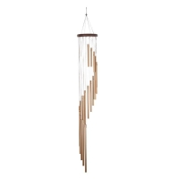 Quality Rotating 35 Inch Outdoor Wind Chimes  With 18 Aluminium Tubes wholesale