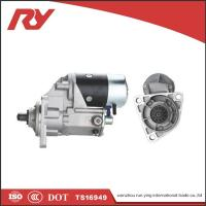 China Electric  Diesel Isuzu Vehicle Starter Motor 24V 4.5Kw 1-81100-191-0 6BB1 6BD1 on sale