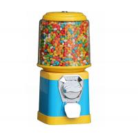 China Kids Coin Operated Candy Dispenser Chrome Finished With CE Certification mini candy vending machine on sale