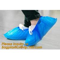 Quality THICK DISPOSABLE,DUST-PROOF,CPE COATED,SMS BOOT COVER,NON WOVEN SHOE COVER,heavy duty polypropylene fabric shoes cover wholesale