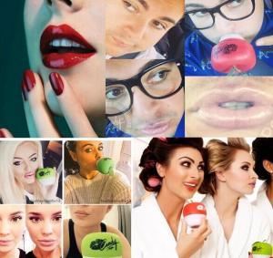 Quality Self Suction Candy Apple Lip Plumper for Men / Women Sexy Lip Enlargement wholesale