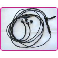 China Iphone Zipper Earphone With Volume Control And Mic For Mobile Phone Earphone YDT1 on sale