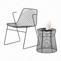 China Mesh patio table and chair, available in various sizes  on sale