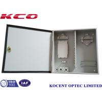 Quality KCO-ODB-48A 48core Outdoor Wall Mountable FDB Optical Terminal Fiber Distribution Box FTTH FTTB wholesale