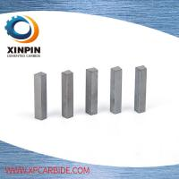 Quality Shape Customized Tungsten Carbide Bar Excellent Performance With Virgin Materials wholesale