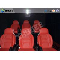 Quality Comfortable red motion chair 7D movie theater of motion cinema equipment wholesale