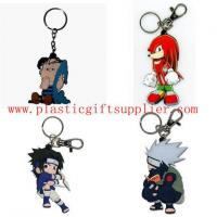 Quality Hot Sales Cartoon Person PVC Keychains for Gifts/Lover wholesale