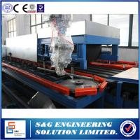 Quality PUR 24m Double Belt Cooling System PU Sandwich Panel Production Line For Insulated PU Foaming Panel wholesale