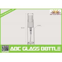 Quality 5-15ml Clear Glass Tube Bottle For Sale wholesale