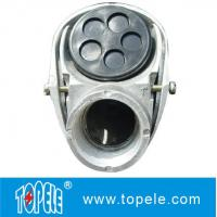 """Quality 3/4"""", 4"""" Aluminum Service Entrance Cap Threaded / Clamp Type  Terminal Fittings wholesale"""