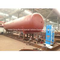 Quality 50000L LPG Gas Tank Skid Mounted , Propane Gas Tank For Mobile Gas Refilling wholesale