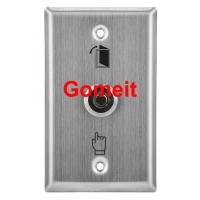 Quality Stainless Steel Door Exit Button with keys wholesale