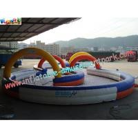 Quality Durable Inflatable Sports Games Race Track , Inflatable Go Kart Track wholesale