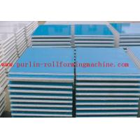 Quality Automatic EPS and Rock Wool Sandwich Panel Roll Forming Machine High Speed and Durable wholesale