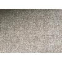 Grey or Coffee Warm Soft Woven Wool Fabric For mens coat , plain style