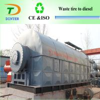 China convert Pyrolysis waste plastic to diesel machine on sale