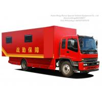 Quality ISUZU Outdoor Mobile Camping Truck With Living Room wholesale