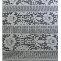 Quality Floral Trident Polka dots Cotton Nylon Lace Fabric For Dressing  152CM Width wholesale