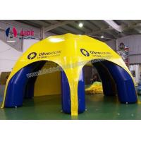 Cheap Opening Inflatable Event Tent Multi Color Air Promotional Inflatable Tent for sale
