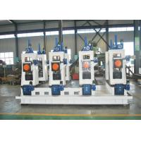Quality Square pipe roll forming machine used Automatic steel ERW pipe mill line machine to make square tube wholesale