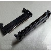 Buy cheap 2.54mm pitch IDC Socket connector black 6 8 10 12 14 16 18 20 24 26 30 34 40 44 from wholesalers