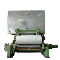 China Jumbo Roll 1880mm 100g/Min A4 Size Paper Making Plant on sale