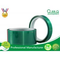 Quality Green Insulated Electrical Tapes 200C No Printing For Paint Masking wholesale