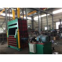 China Waste Paper Vertical Baler Machine Pack Loose Materials 200 Tons Nominal Force on sale
