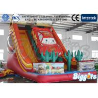 Quality Car Design Kids Inflatable Slides Jumper Bouncer EN-71 Certification wholesale