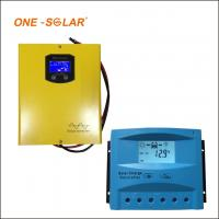 Quality 10A 20A 30A Solar Charger Controller , 12v 24v auto LCD screen PWM solar charger wholesale
