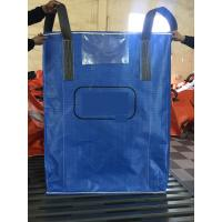 Quality High quality blue color PP woven circular jumbo bags with square bottom sift-proofing wholesale