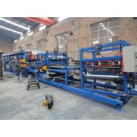 China Steel Wall Panel Roll Forming Machine Ceiling  PUF Sandwich Panel Machine on sale