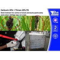 Cheap Carboxin 20% + Thiram 20% FS Pesticide Mixture Seed Treatment Cas 5234-68-4 for sale