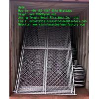 Quality Galvanized Chain Link Fence/Temporary Fence, Zinc Layer and Metal Wire Bond Very Well wholesale