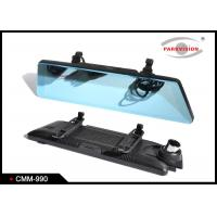 Buy cheap LCD Clip On Vehicle Rear View Mirror Camera Monitor System Ducal Lens 10 Inch from wholesalers
