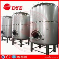 Quality 3000L Sanitary Stainless Steel Wine Tanks For Brewery / Beer Brewing Tanks wholesale
